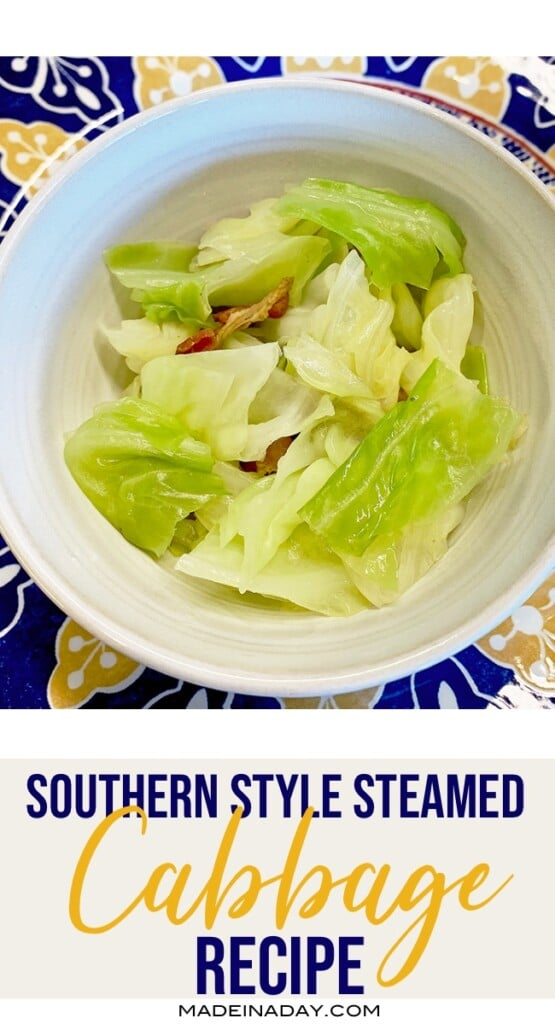 Easy steamed cabbage, fried cabbage, cabbage and ham, cabbage and broth