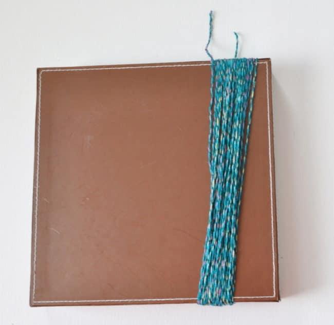 make a tassel with cardboard