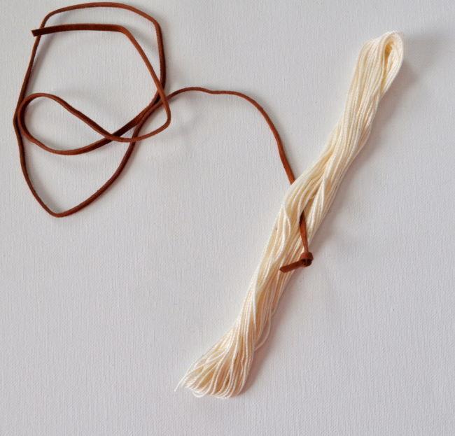 tassel on a string