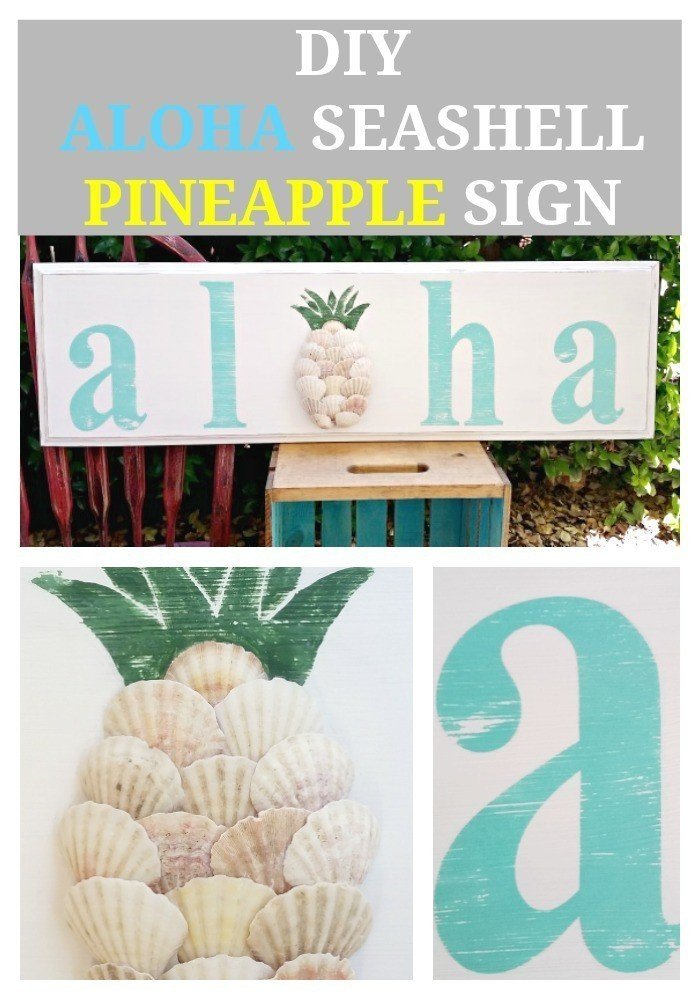 DIY-Aloha-Seashell-Pineapple-Sign-p
