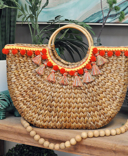 Design Trend: Make Your Own Pom & Tassel Basket Totes 5