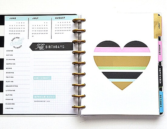 Loving my Happy Planner with Free July Printable Planner Stickers 35