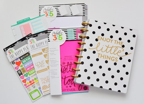 Guide to get started with Happy Planner