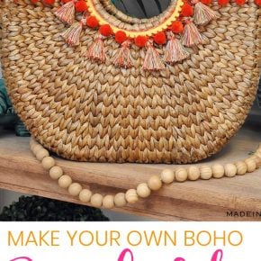 Design Trend: Make Your Own Pom & Tassel Basket Totes 1