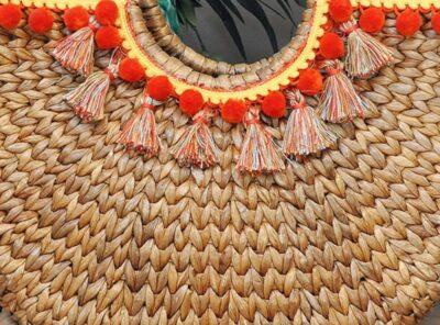 Design Trend: Make Your Own Pom & Tassel Basket Totes