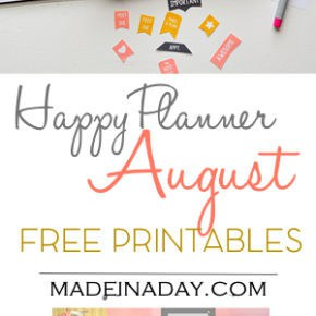 August FREE Printable Planner Stickers 29