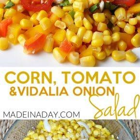 Corn Tomato Salad with Vidalia Onions 1