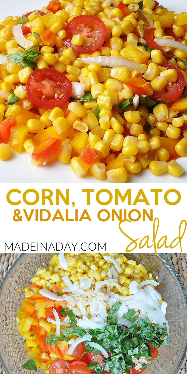 Corn Tomato Salad with Vidalia Onions 5