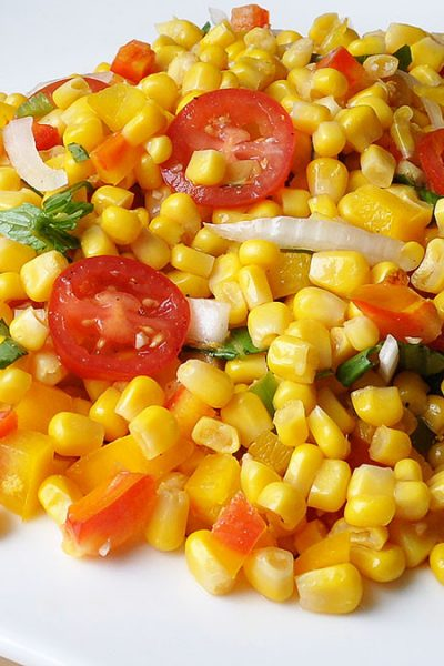 Corn Tomato Salad with Vidalia Onions