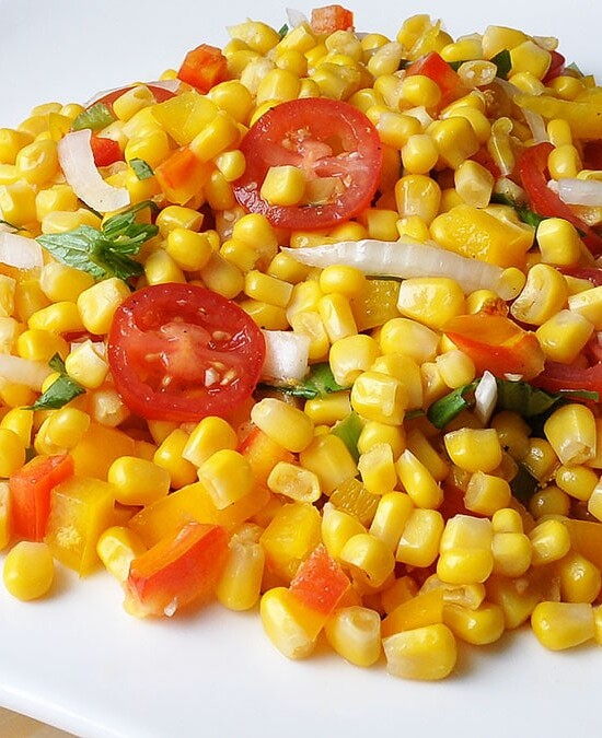 Corn Tomato Salad with Vidalia Onions 6
