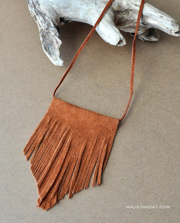 Sude Fringe Necklace