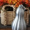 Blown Glass Pumpkin Mercury Makeover