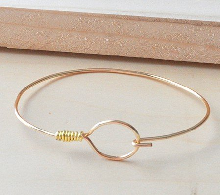 DIY Wire Wrapped Bangles
