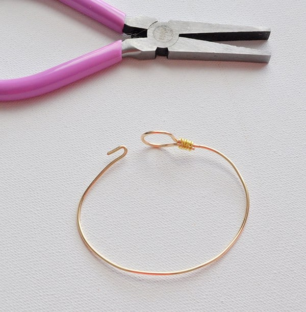 stackable wire bangle bracelet
