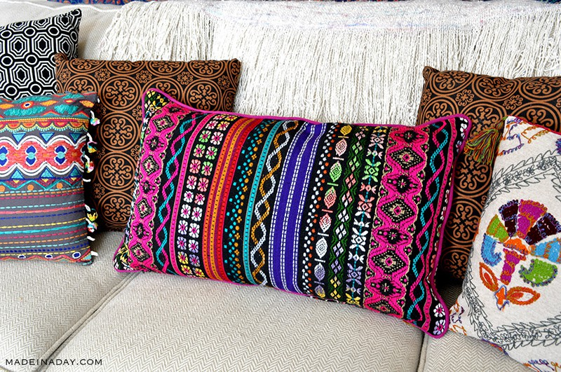 boho-aztec-stripe-lumbar-pillow-madeinaday-com