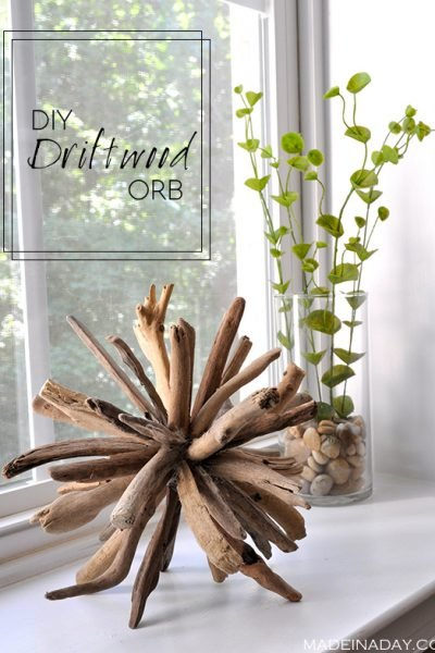 How to Make a DIY Driftwood Orb