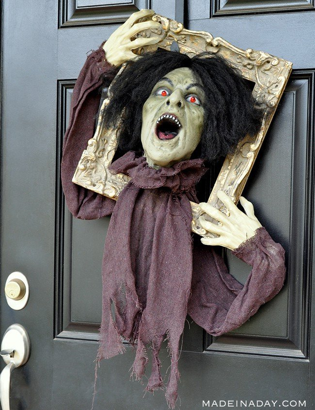 Halloween Zombie Door Hanger Prop Made In A Day
