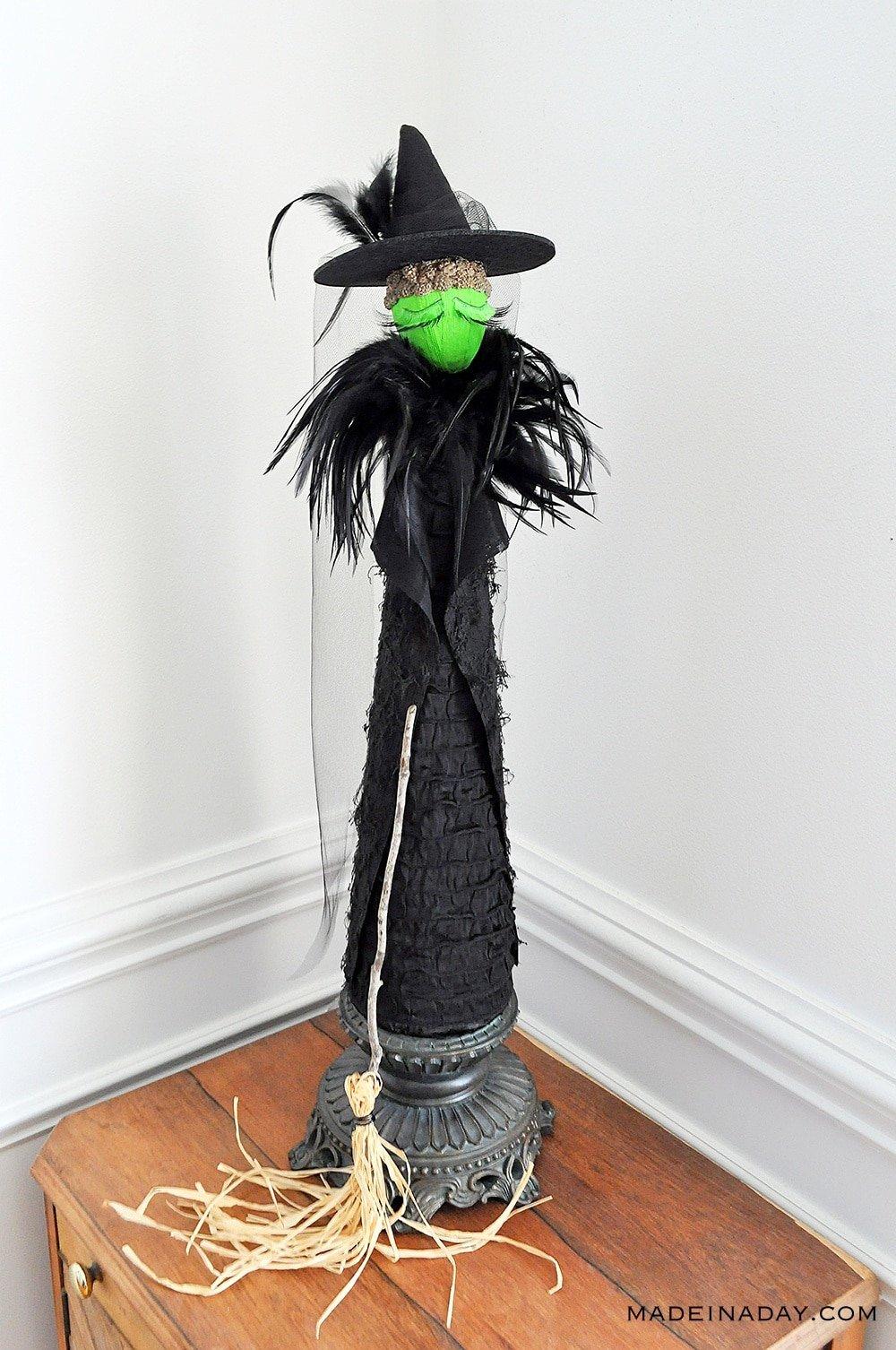 DIY Wicked Witch Figure, Broadway Wicked Figurine, Craft Witch
