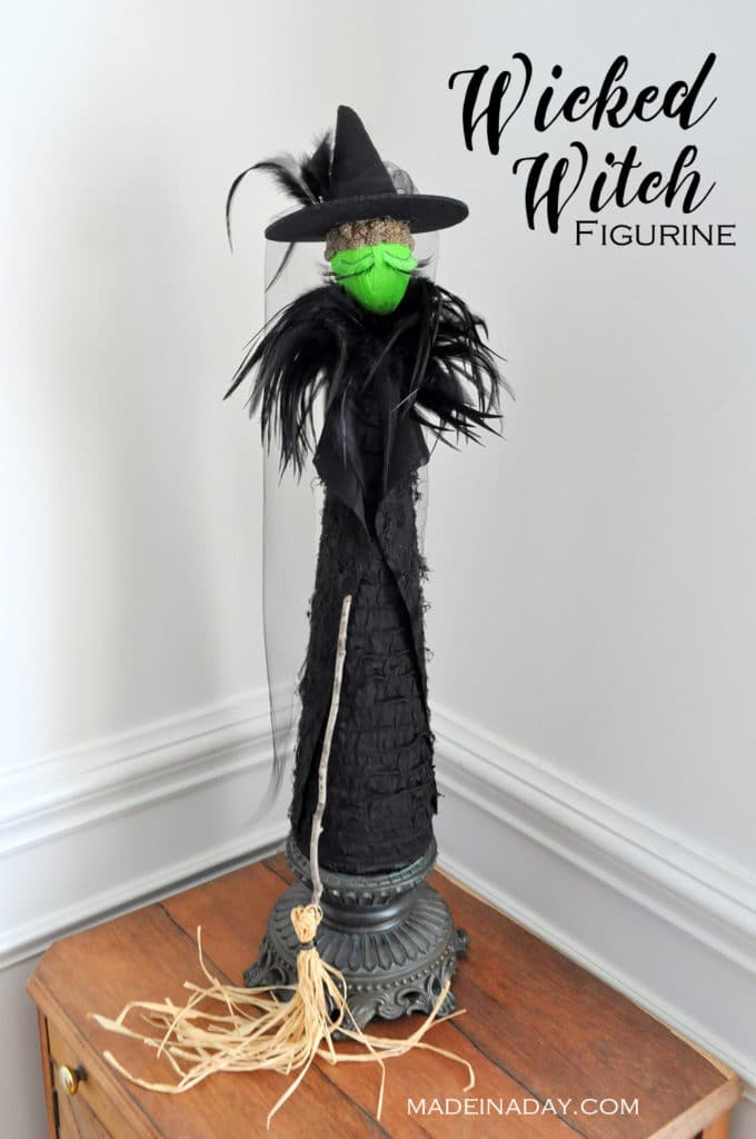 diy-wicked-witch-cone-figurine-madeinaday-com