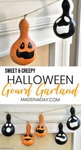Irresistible Halloween Gourd Garland 1