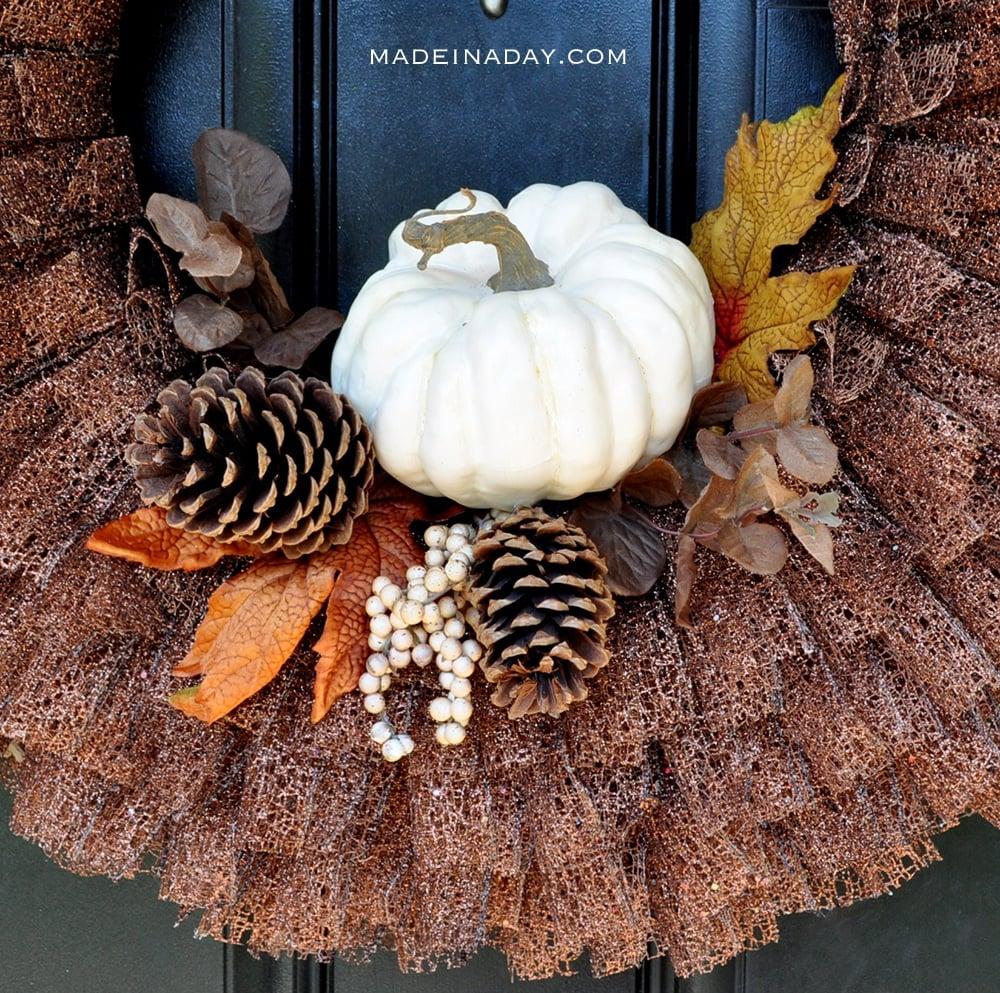 fall-pumpkin-ribbon-wreath-madeinaday-com
