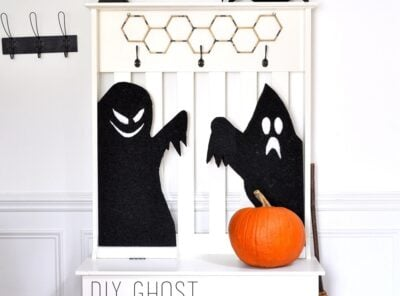 Thrilling Haunted Ghost Silhouettes