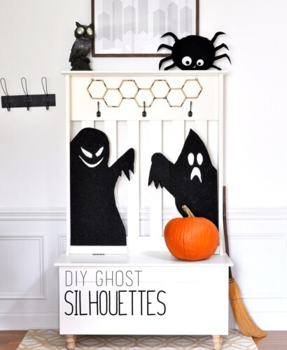 Thrilling Haunted Ghost Silhouettes 31