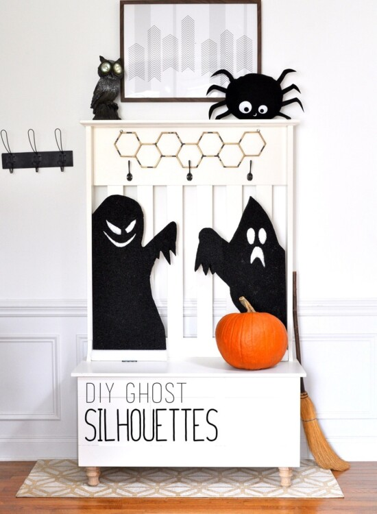 Thrilling Haunted Ghost Silhouettes 33