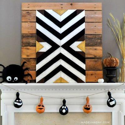 Halloween Gourd Garland