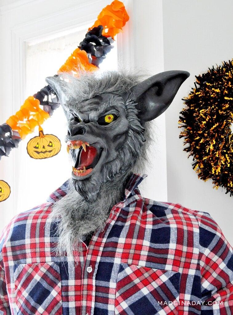 Werewolf Halloween Character Prop