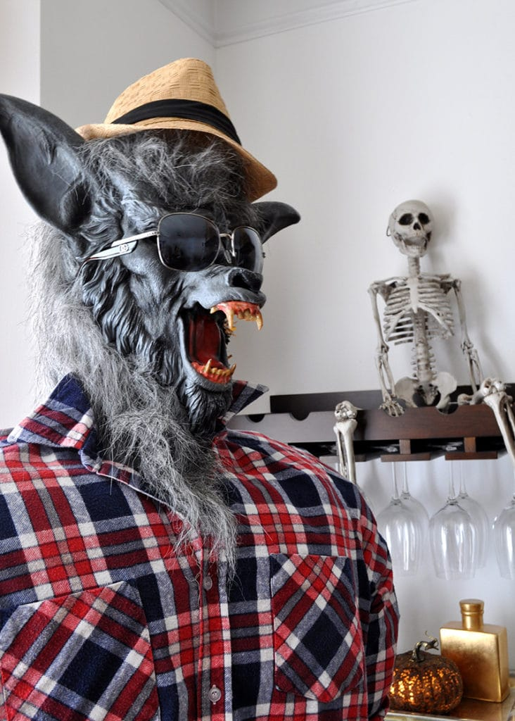 how to make a pvc pipe halloween prop Werewolf