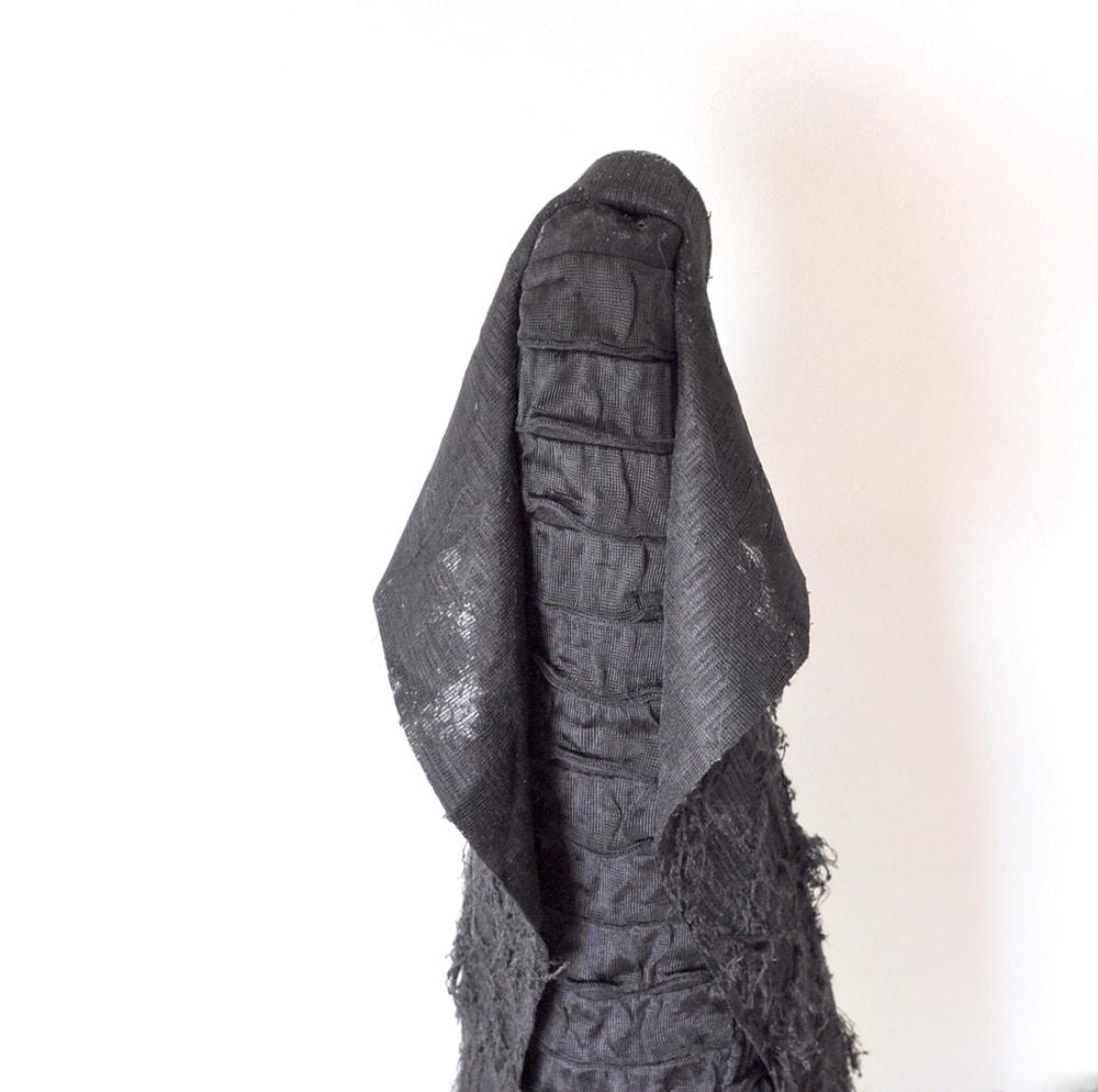glue fabric to cone