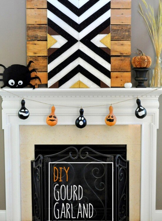 Irresistible Halloween Gourd Garland 5