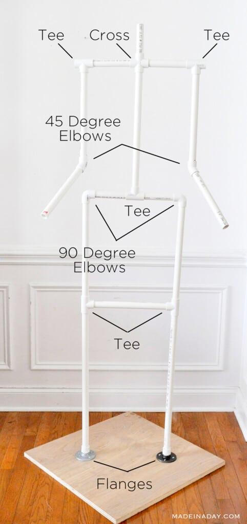 PVC Body Frame Plans