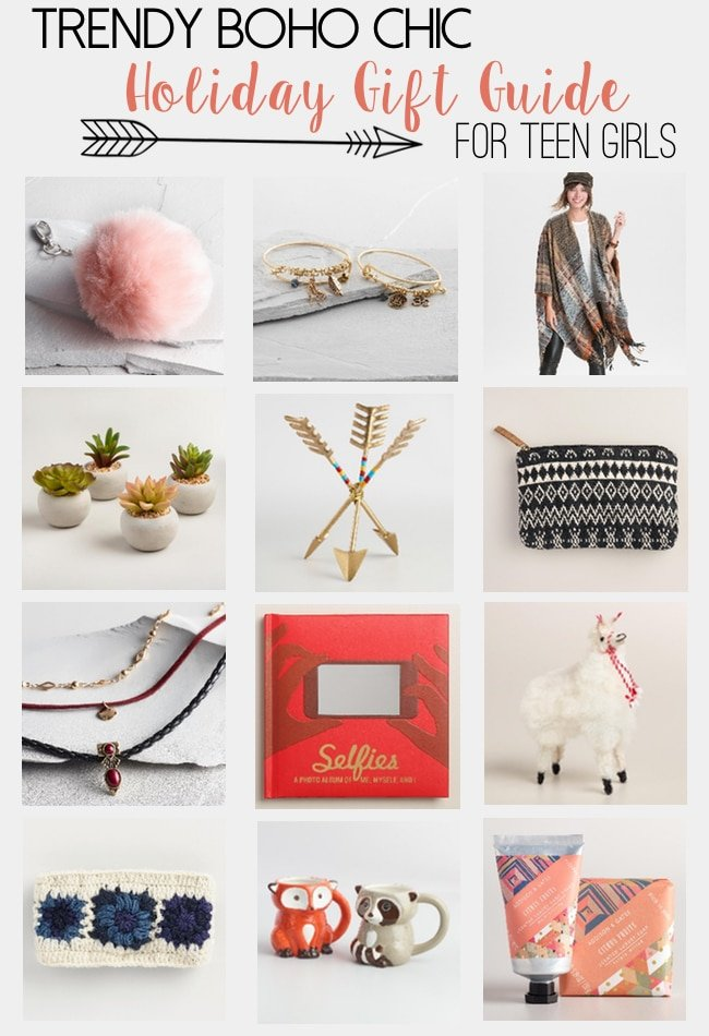 Ultimate holiday gift guide for teen girls | grateful prayer.