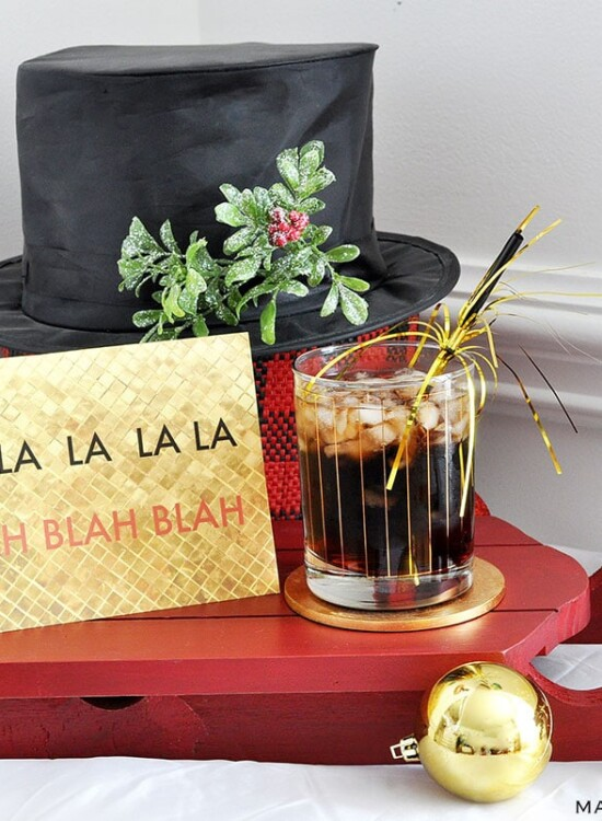 Scrooged Yule Love It Cherry Coke Vodka Cocktail 36