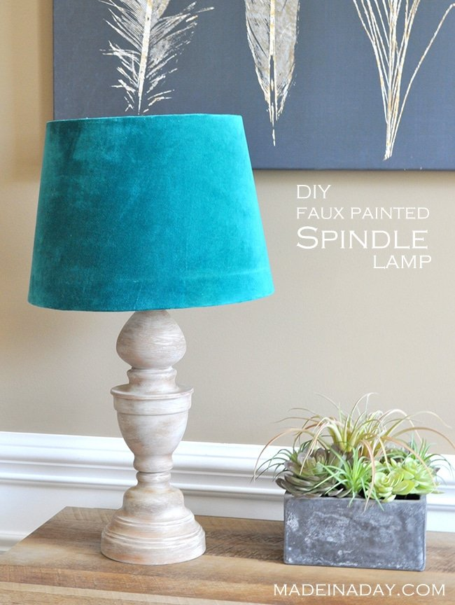 diy-faux-painted-spindle-lamp-madeinday-com
