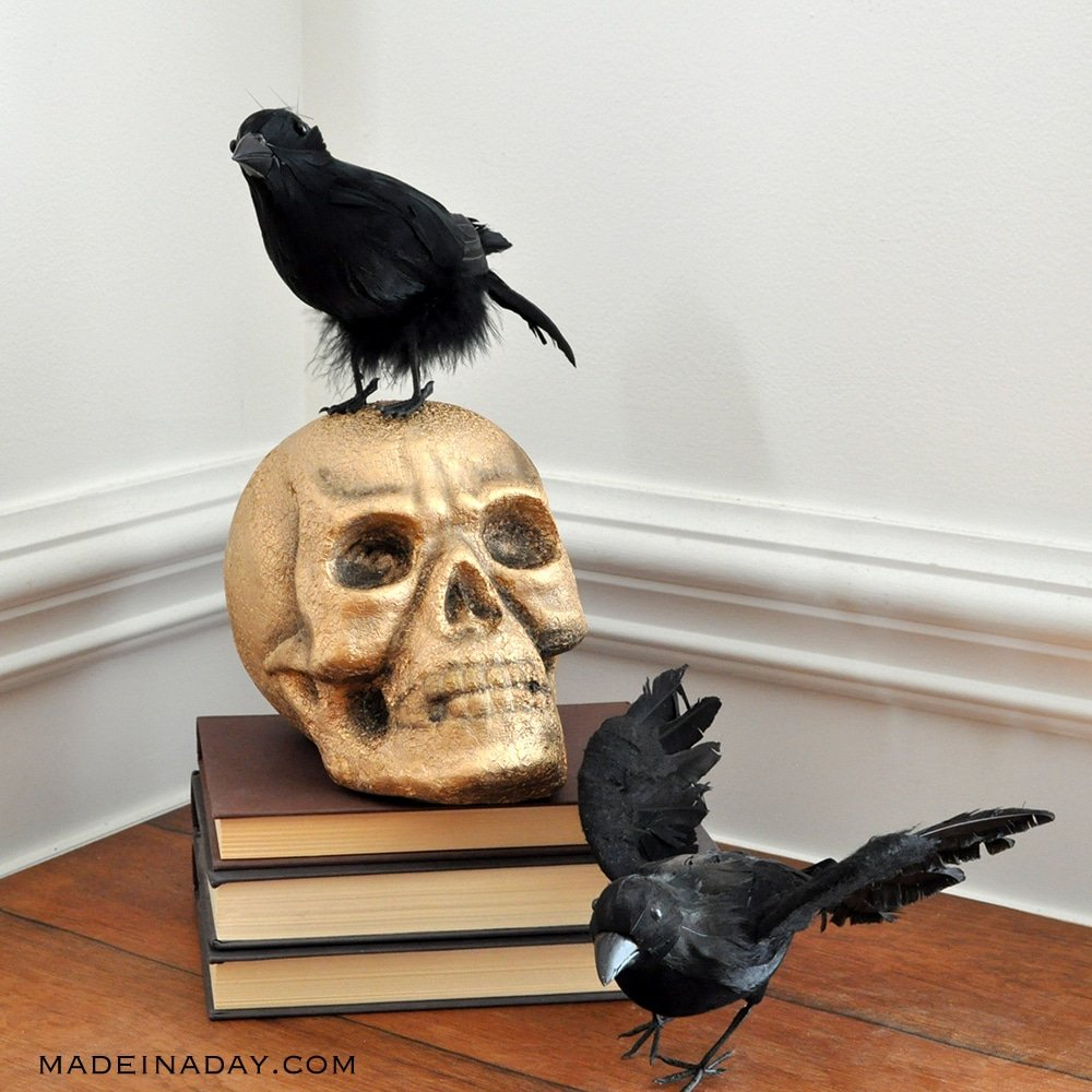 Undeniable the Creepiest Halloween Vignette Decor 5