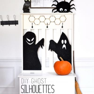 Haunted Ghost Silhouettes