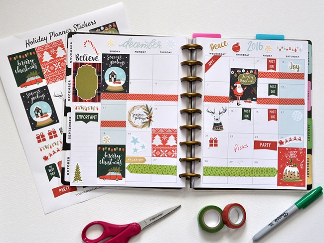 holiday-december-free-planner-stickers-madeinaday-com