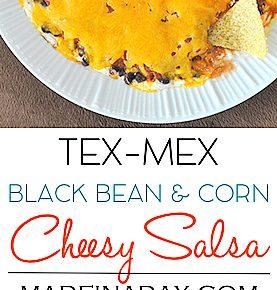 Layered Tex Mex Cheesy Salsa Dip & Game Day Bash 29
