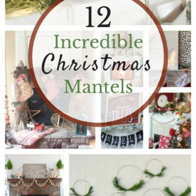 12 Impressive Holiday Mantels