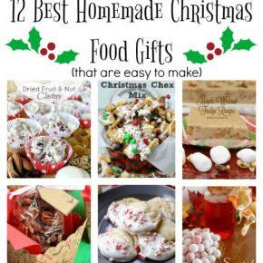 Homemade Edible Christmas Gifts 1