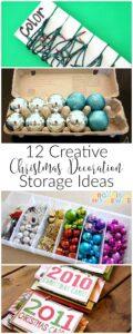 12 Holiday Decoration Organizing Tips 1