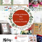 Free Christmas Tags and Decor Printables 29