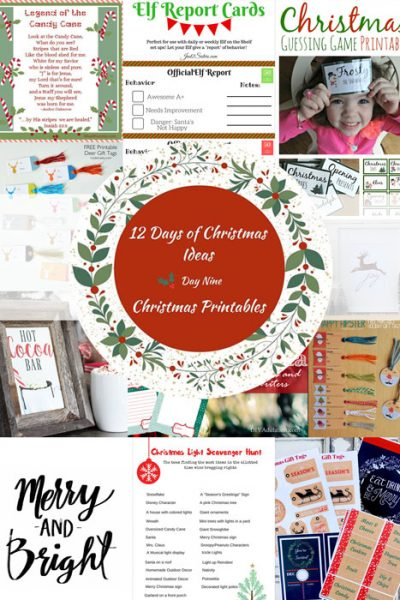 Free Christmas Tags and Decor Printables