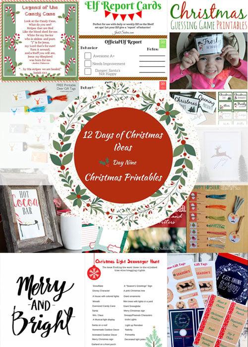 Free Christmas Tags and Decor Printables