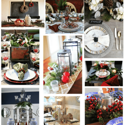 12 Elegant Holiday Tablescapes