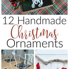 12 DIY Christmas Ornaments 1