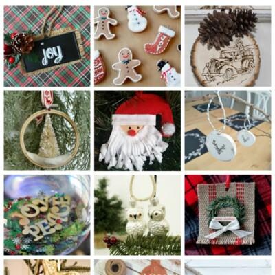 12 DIY Christmas Ornaments